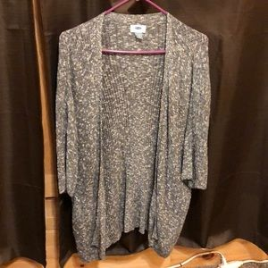 Gray old navy light weight cover up